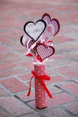 valentines day1 Romantic Table Decorations Ideas for Valentines Day