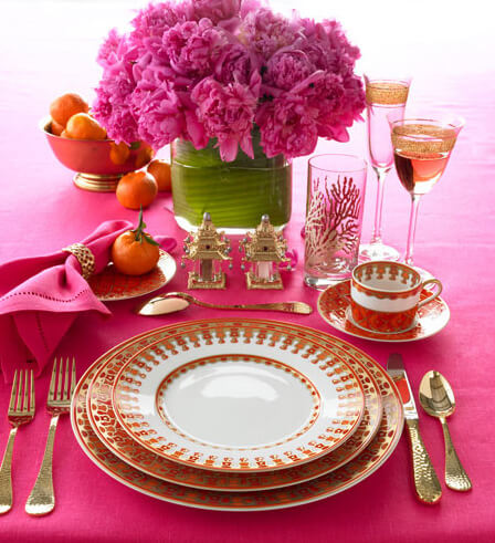 valentines romantic tablesetting02 Romantic Table Decorations Ideas for Valentines Day