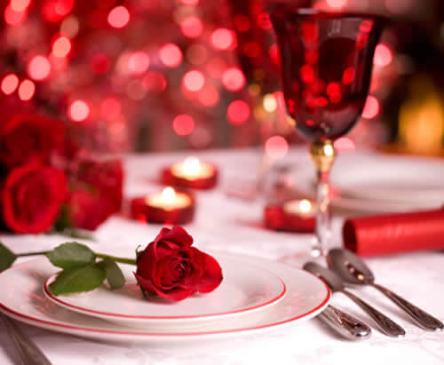 valentines day deas Romantic Table Decorations Ideas for Valentines Day