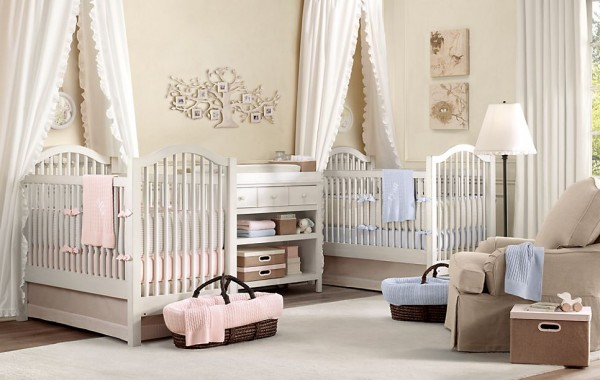 AntiqueSpindle nursery restoration hardware3 600x380 12 Inspiring Nursery Design Ideas from Restoration Hardware