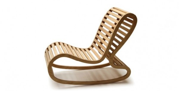10 modern rocking chair designs for outdoor and indoor design trends. Black Bedroom Furniture Sets. Home Design Ideas