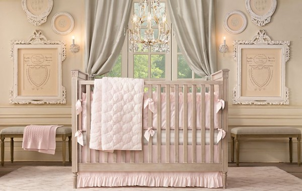 Emelia nursery restoration hardware2 600x380 12 Inspiring Nursery Design Ideas from Restoration Hardware
