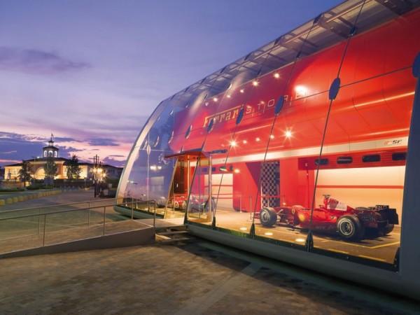 FERRARI factory store 021 600x450 Ferrari Factory Store in Serravalle Scrivia, Italy