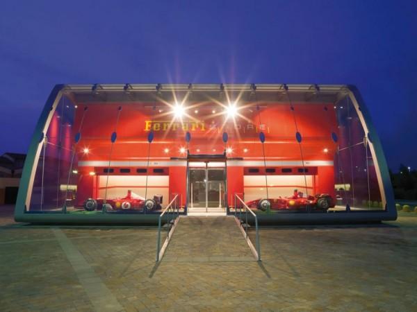 FERRARI factory store 051 600x450 Ferrari Factory Store in Serravalle Scrivia, Italy