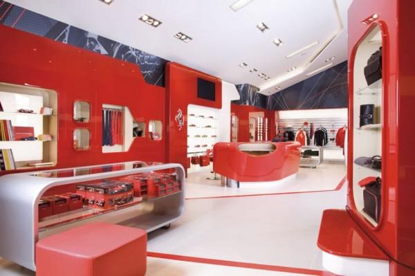 FERRARI factory store 121 600x399 Ferrari Factory Store in Serravalle Scrivia, Italy