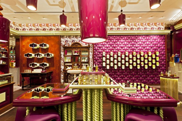 Fragrance Boutique Penhaligon13 600x399 Eccentric British Style, Fragrance Boutique Penhaligon in Singapore
