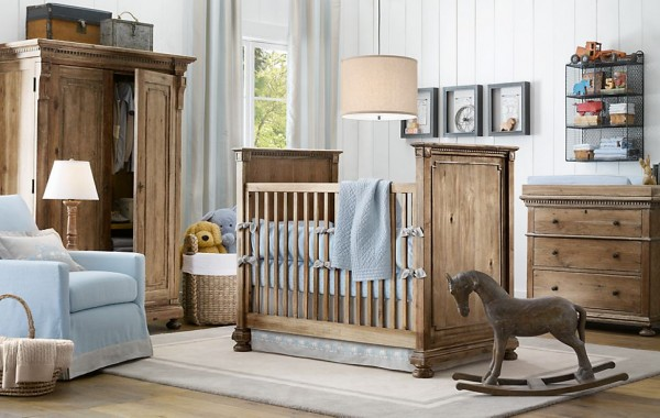 Jameson nursery restoration hardware12 600x380 12 Inspiring Nursery Design Ideas from Restoration Hardware