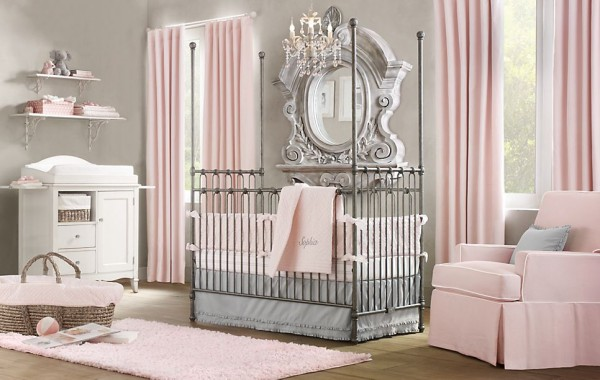 Martine nursery restoration hardware3 600x380 12 Inspiring Nursery Design Ideas from Restoration Hardware
