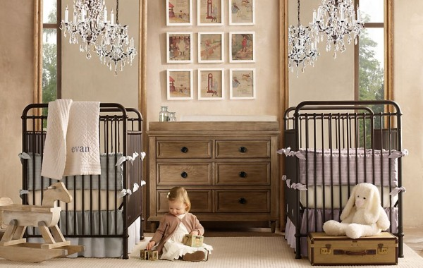 Millbrook nursery restoration hardware12 600x380 12 Inspiring Nursery Design Ideas from Restoration Hardware