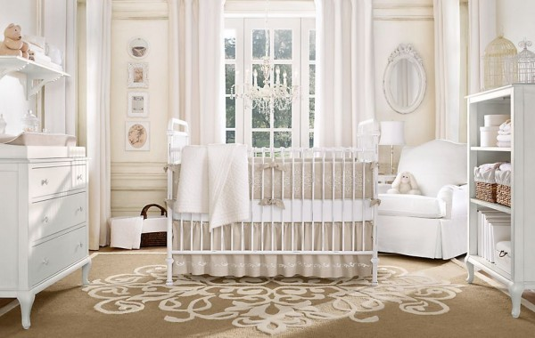 Millbrook nursery restoration hardware3 600x380 12 Inspiring Nursery Design Ideas from Restoration Hardware