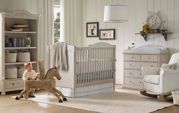 Tate nursery restoration hardware3 600x380 12 Inspiring Nursery Design Ideas from Restoration Hardware