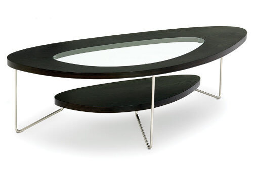 bdi teardrop 2109 coffee table 500 pix 10 Contemporary Glass Coffee Tables with Minimalist Design