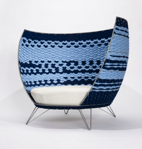 big basket03 600x628 Oversized Modern Chair from Ola Gillgren