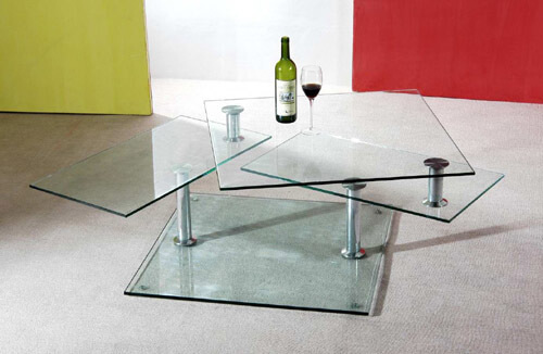 coffee table gfi1 10 Contemporary Glass Coffee Tables with Minimalist Design