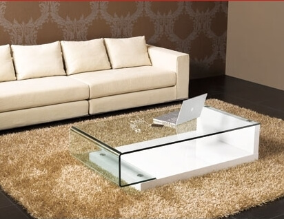 coffee table2 10 Contemporary Glass Coffee Tables with Minimalist Design
