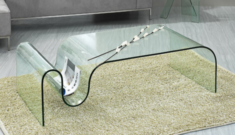 contemporary glass coffee table 10 Contemporary Glass Coffee Tables with Minimalist Design