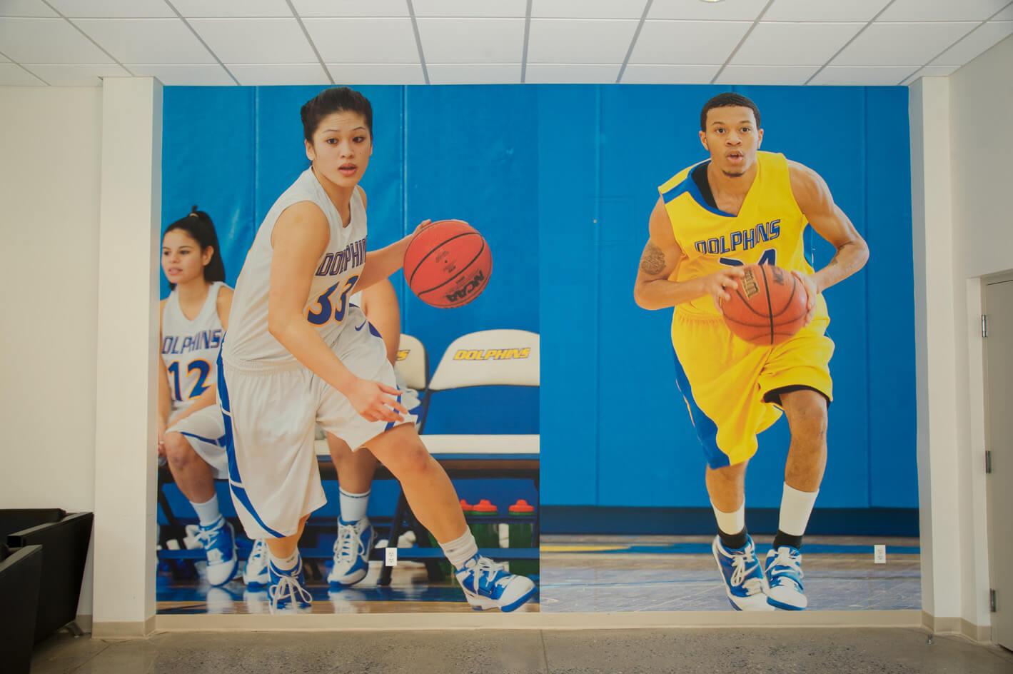 custom basketball wall paper