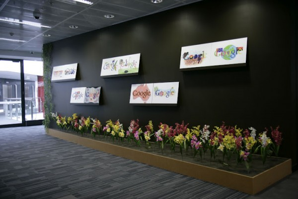 google office australia1 600x400 Awesome Google Offices Designs Around the World