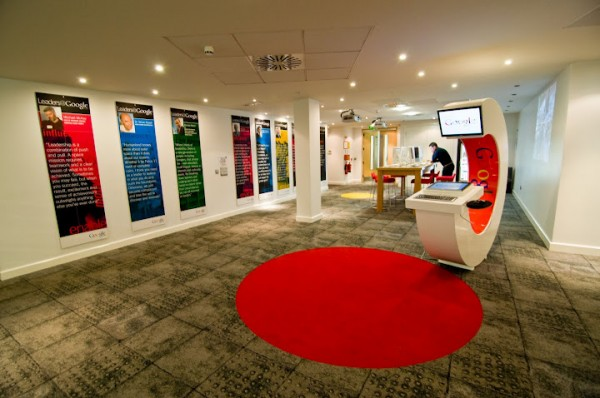 Awesome google offices designs around the world interior for Office design google