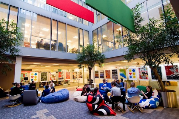 google office dublin1 600x398 Awesome Google Offices Designs Around the World