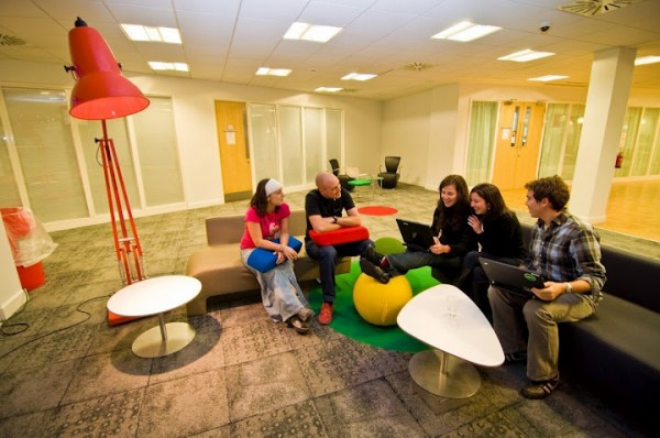 google office dublin2 600x398 Awesome Google Offices Designs Around the World