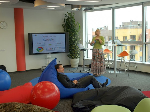google office poland 600x450 Awesome Google Offices Designs Around the World