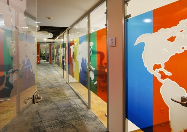 google office poland1 600x424 Awesome Google Offices Designs Around the World