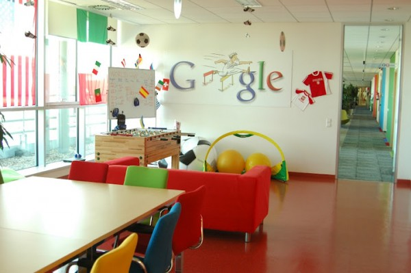 google office poland3 600x399 Awesome Google Offices Designs Around the World