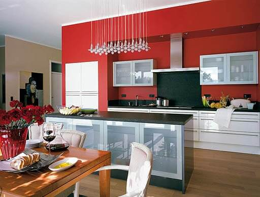 kitchen wall painting4 Kitchen Wall Painting Ideas