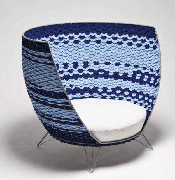 olagillgren bigbasket2 600x619 Oversized Modern Chair from Ola Gillgren
