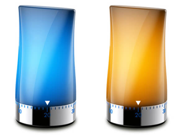 timer to light Timer to Light: Lamp Concept by Jasper Hou