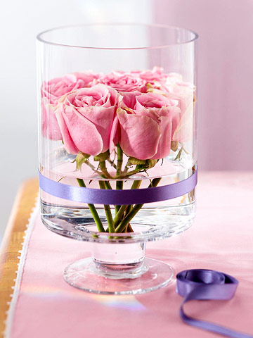 valentines day flower centerpiece5 Vibrant Valentines Day Flowers Centerpiece Ideas