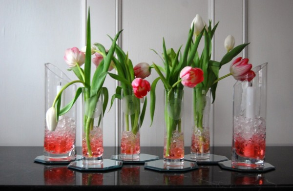 Beautiful Spring Vase Home Decor2 600x391 5 Design Ideas to Decorate Your Home for Spring