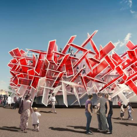 Coca Cola Beatbox by Pernilla Asif Highly Innovative Pavilion for London 2012 Olympic Games: The Coca Cola Beatbox