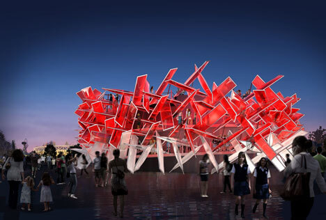 Coca Cola Beatbox by Pernilla Asif1 Highly Innovative Pavilion for London 2012 Olympic Games: The Coca Cola Beatbox