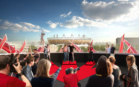 Coca Cola Beatbox by Pernilla Asif2 Highly Innovative Pavilion for London 2012 Olympic Games: The Coca Cola Beatbox