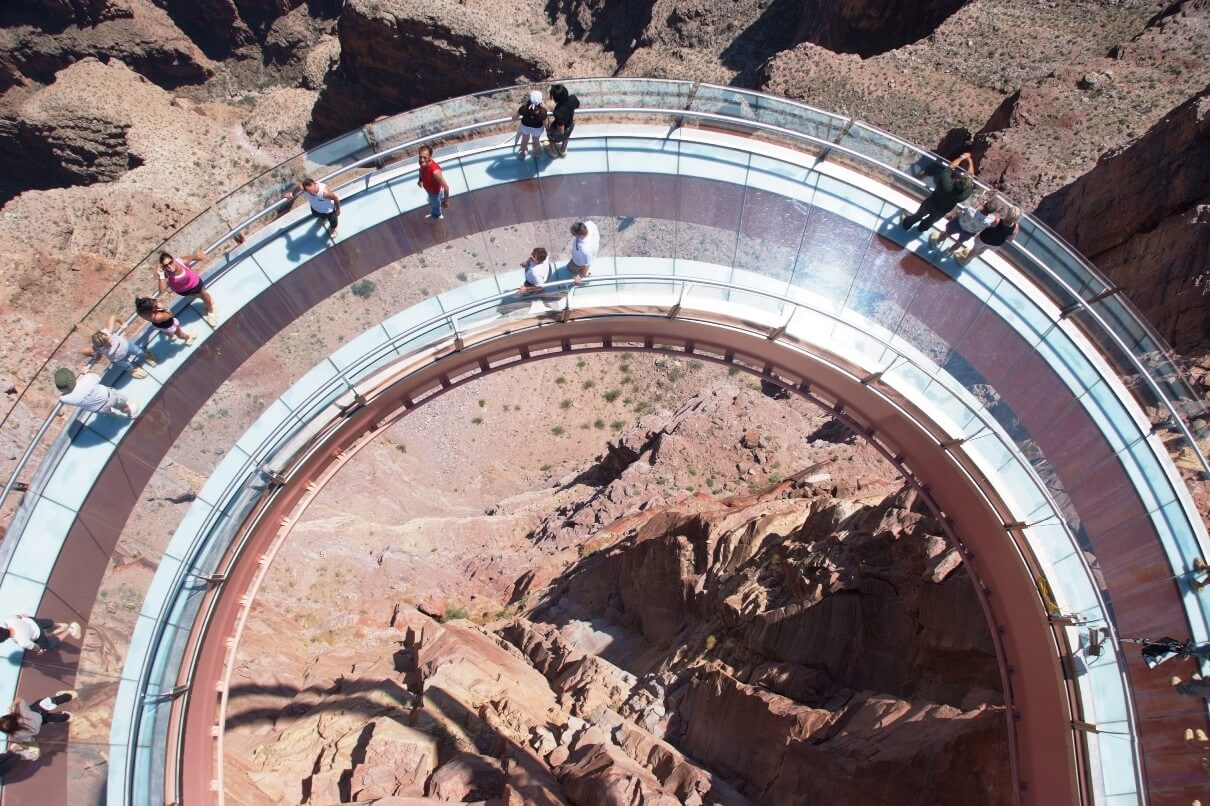 grand canyon skywalk a transparent feel of freedom