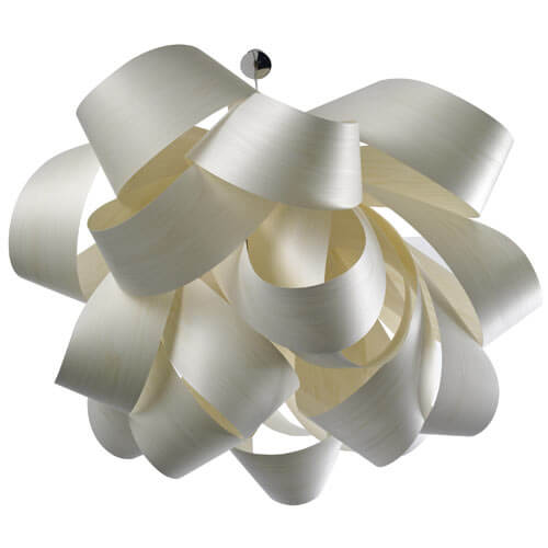 agatha large suspension light4 7 Creative Handmade Lamps from LZF for a Spectacular Lighting Effect
