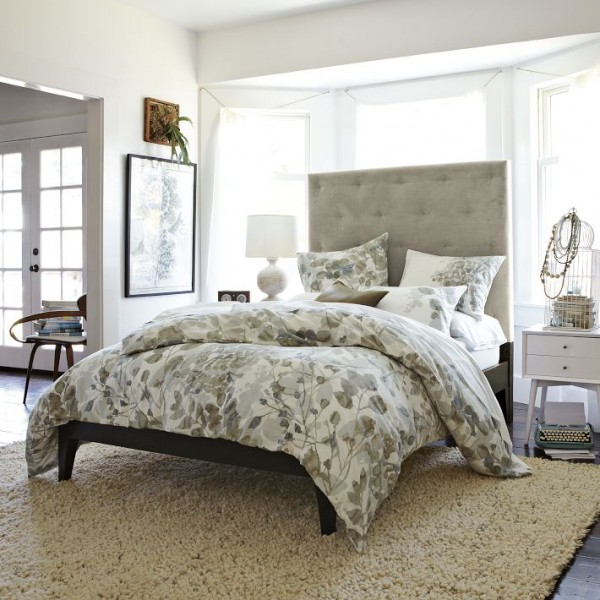 bedding 1 600x600 10 Splendid Bedding by West Elm