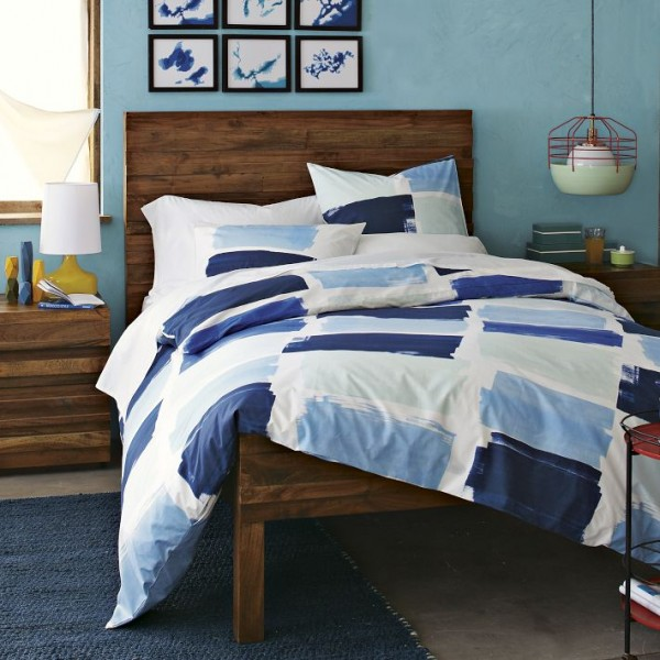 bedding 77 600x600 10 Splendid Bedding by West Elm