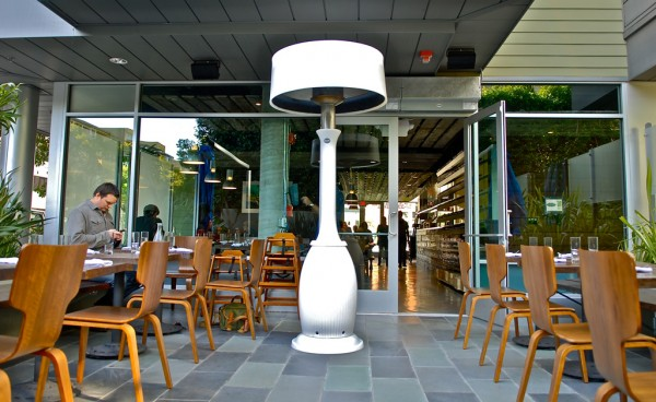 bella kindle heater3 600x368 Fantastically Modern Patio Heater for Outdoor Areas