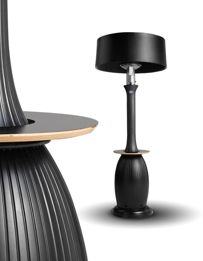 bella cocktail table Fantastically Modern Patio Heater for Outdoor Areas