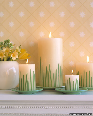 candles spring martha stewart 5 Design Ideas to Decorate Your Home for Spring