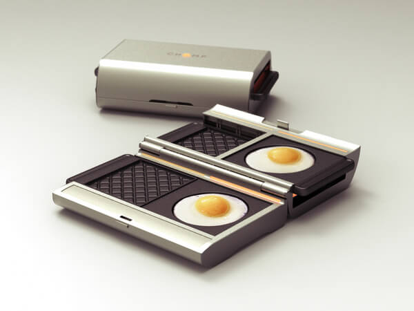 chomp sandwich maker5 Innovative Kitchen Idea: Chomp by Eric Pautz