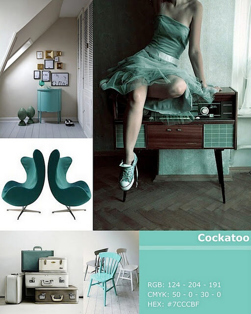 cockatoo pantone colorr 10 Most Prominent Hues for Spring 2012