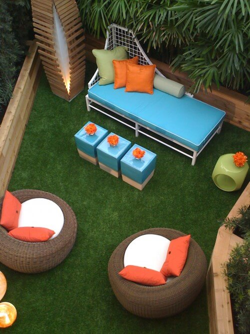 colorful outdoor room 10 Designs Ideas to Create Colorful Outdoor Spaces