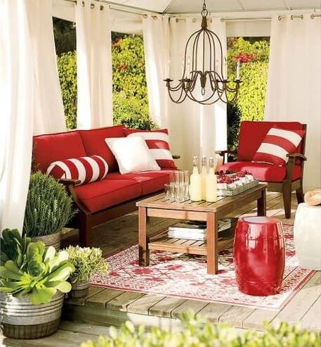colorful outdoor space5 10 Designs Ideas to Create Colorful Outdoor Spaces