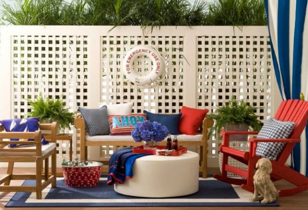 colorful outdoor space7 600x410 10 Designs Ideas to Create Colorful Outdoor Spaces