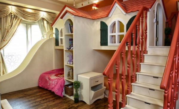 creative kids room 600x367 10 Creative Designs For Kids Room