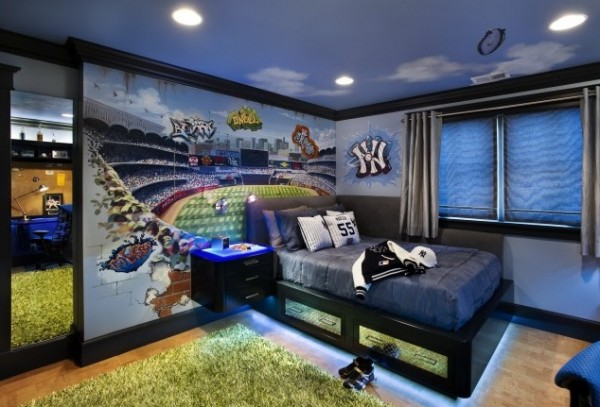 creative kids room2 600x407 10 Creative Designs For Kids Room